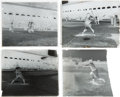 Baseball Collectibles:Photos, Early 1920's Babe Ruth Glass Plate Negatives Lot of 4.. ...