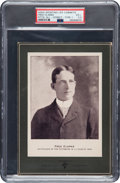 Baseball Cards:Singles (Pre-1930), 1902-11 W600 Sporting Life Fred Clarke (Street, Type 1) PSA VG+ 3.5- Very Rare Green Mount! ...