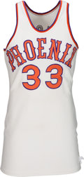 Basketball Collectibles:Uniforms, 1972-75 Charlie Scott Game Worn Phoenix Suns Uniform....