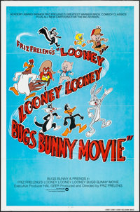 """The Looney Looney Looney Bugs Bunny Movie & Other Lot (Warner Brothers, 1981). One Sheet (27"""" X 41"""") &..."""