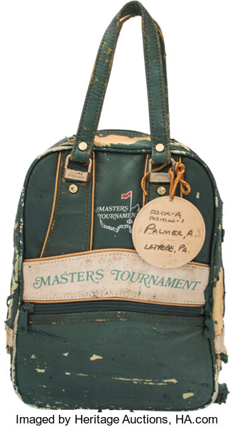 1972 Arnold Palmer Shoe Bag from The Masters.. ... Golf  14859d762