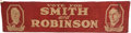 Political:Textile Display (1896-present), Smith & Robinson: Large Jugate Street Banner....