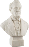 Political:3D & Other Display (1896-present), Abraham Lincoln: Hollow Parian Bust....