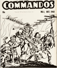 Commandos Ashcan Edition (DC, 1942) Condition: VF