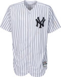 Baseball Collectibles:Uniforms, 2017 Aaron Judge Game Worn New York Yankees Jersey, Photo Matched.. ...