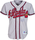 Baseball Collectibles:Uniforms, 1995 Tom Glavine Game Worn & Signed Atlanta Braves Jersey--World Championship Season!. ...