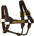 "Miscellaneous Collectibles:General, 1980's ""John Henry"" Worn Halter.. ..."
