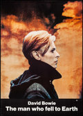 "Movie Posters:Science Fiction, The Man Who Fell to Earth (Cinema 5, 1976). One Sheet (27.5"" X41.5""). Science Fiction.. ..."