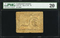 Continental Currency May 9, 1776 $3 PMG Very Fine 20