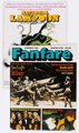 Frank Frazetta Related Group of 4 (Various Publishers).... (4)