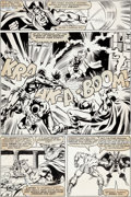 Original Comic Art:Panel Pages, Bob Hall and Bob Layton Avengers #220 Story Page 14 OriginalArt (Marvel, 1982)....