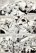 Original Comic Art:Panel Pages, Mike Zeck and John Beatty Captain America #277 Page 3Original Art (Marvel, 1983)....