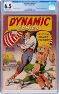 Golden Age (1938-1955):Adventure, Dynamic Comics #1 (Chesler, 1941) CGC FN+ 6.5 Cream to off-white pages....