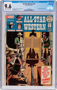 All-Star Western #10 (DC, 1972) CGC NM+ 9.6 Off-white to white pages