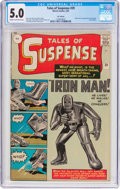 Silver Age (1956-1969):Superhero, Tales of Suspense #39 U.K. Edition (Marvel, 1963) CGC VG/FN 5.0Cream to off-white pages....