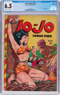 Jo-Jo Comics #25 (Fox Features Syndicate, 1949) CGC FN+ 6.5 Cream to off-white pages