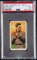 Baseball Cards:Singles (Pre-1930), 1909-11 T206 Sweet Caporal Addie Joss (Pitching) PSA VG+ 3.5 -Factory 42....