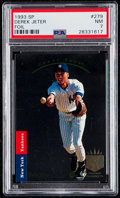 Baseball Cards:Singles (1970-Now), 1993 SP Derek Jeter #279 PSA NM 7....