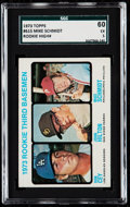 Baseball Cards:Singles (1970-Now), 1973 Topps Mike Schmidt #615 SGC 60 EX 5.. ...