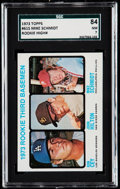 Baseball Cards:Singles (1970-Now), 1973 Topps Mike Schmidt #615 SGC 84 NM 7.. ...