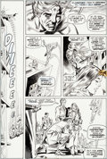 Original Comic Art:Panel Pages, Gil Kane and Tom Sutton Warlock #4 Page 30 Original Art(Marvel, 1973)....
