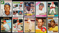Baseball Cards:Lots, 1950's - 1980's Baseball Stars & Hall of Famers Collection(21). ...