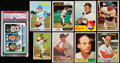 Baseball Cards:Lots, 1950's - 1980's Baseball Stars & Hall of Famers Collection(16). ...