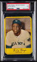 Baseball Cards:Singles (1950-1959), 1954 Stahl-Meyer Franks Willie Mays PSA Poor 1....