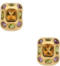 Estate Jewelry:Earrings, Citrine, Amethyst, Peridot, Gold Earrings. ...