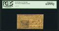 Colonial Notes:New Jersey, New Jersey December 31, 1763 18d PCGS Choice New 63PPQ.. ...
