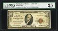 National Bank Notes:Maine, Farmington, ME - $10 1929 Ty. 1 The First NB Ch. # 4459. ...