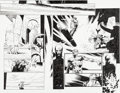 Original Comic Art:Panel Pages, Olivier Coipel and Mark Morales Mighty Thor #2 Double PageSpread Pages 20-21 Original Art (...