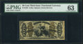 Fractional Currency:Third Issue, Fr. 1358 50¢ Third Issue Justice PMG Choice Uncirculated 63.. ...