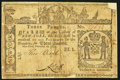 Colonial Notes:New York, New York February 16, 1771 £3 Fine.. ...