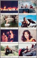 "Movie Posters:Fantasy, The Beastmaster (MGM/UA, 1982). Mini Lobby Card Set of 8 (8"" X 10""). Fantasy.. ... (Total: 8 Items)"