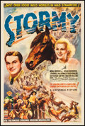 "Movie Posters:Western, Stormy (Universal, 1935). One Sheet (27"" X 41""). Western.. ..."