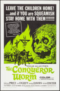 "Movie Posters:Horror, The Conqueror Worm (American International, 1968). One Sheet (27"" X 41""). Horror.. ..."
