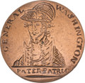 Political:Inaugural (1789-present), George Washington: Pater Patriæ... the Holy Grail of GW Inaugural Buttons....