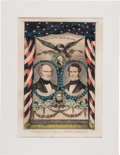 Political:Posters & Broadsides (1896-present), Scott & Graham: Colorful and Rare Jugate Grand National BannerPrint....