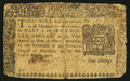 Colonial Notes:New York, New York March 5, 1776 $1/2 Fine.. ...