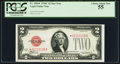 Small Size:Legal Tender Notes, Fr. 1504* $2 1928C Legal Tender Note. PCGS Choice About New 55.. ...