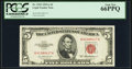 Small Size:Legal Tender Notes, Fr. 1533 $5 1953A Legal Tender Note. PCGS Gem New 66PPQ.. ...