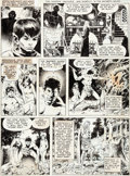 Original Comic Art:Panel Pages, Wally Wood The Wizard King Story Page 12 Original Art(Wallace Wood, 1978)....