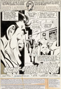 Original Comic Art:Panel Pages, Joe Staton and Dave Hunt Green Lantern #117 Splash Page 1Original Art (DC, 1979)....
