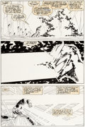 Original Comic Art:Panel Pages, John Romita Jr. and Bob Wiacek Iron Man #260 Page 2 OriginalArt (Marvel, 1990)....