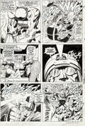 Original Comic Art:Panel Pages, Jack Kirby and Vince Colletta Thor #141 Story Page 12Original Art (Marvel, 1967)....
