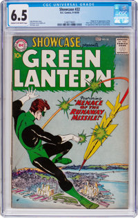Showcase #22 Green Lantern (DC, 1959) CGC FN+ 6.5 Cream to off-white pages