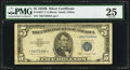 Small Size:Silver Certificates, Fr. 1657* $5 1953B Silver Certificate. PMG Very Fine 25.. ...
