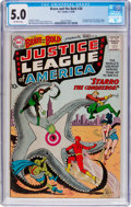 Silver Age (1956-1969):Superhero, The Brave and the Bold #28 Justice League of America (DC, 1960) CGC VG/FN 5.0 Off-white pages....