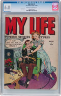 Golden Age (1938-1955):Romance, My Life #5 (Fox Features Syndicate, 1948) CGC FN 6.0 Cream tooff-white pages....